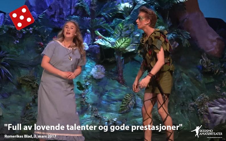 Terningkast fem: Peter Pans fantasiverden